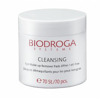 biodroga eye makeup remover pads