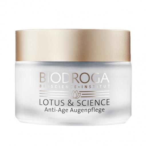 biodroga anti aging eye cream lotus and science
