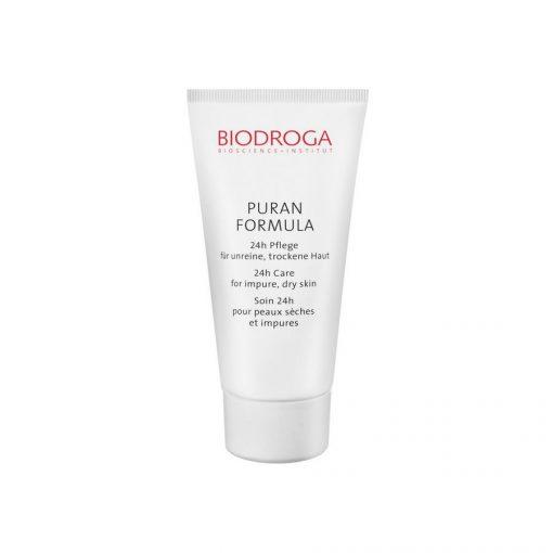 biodroga 24 hour care for impure dry skin puran